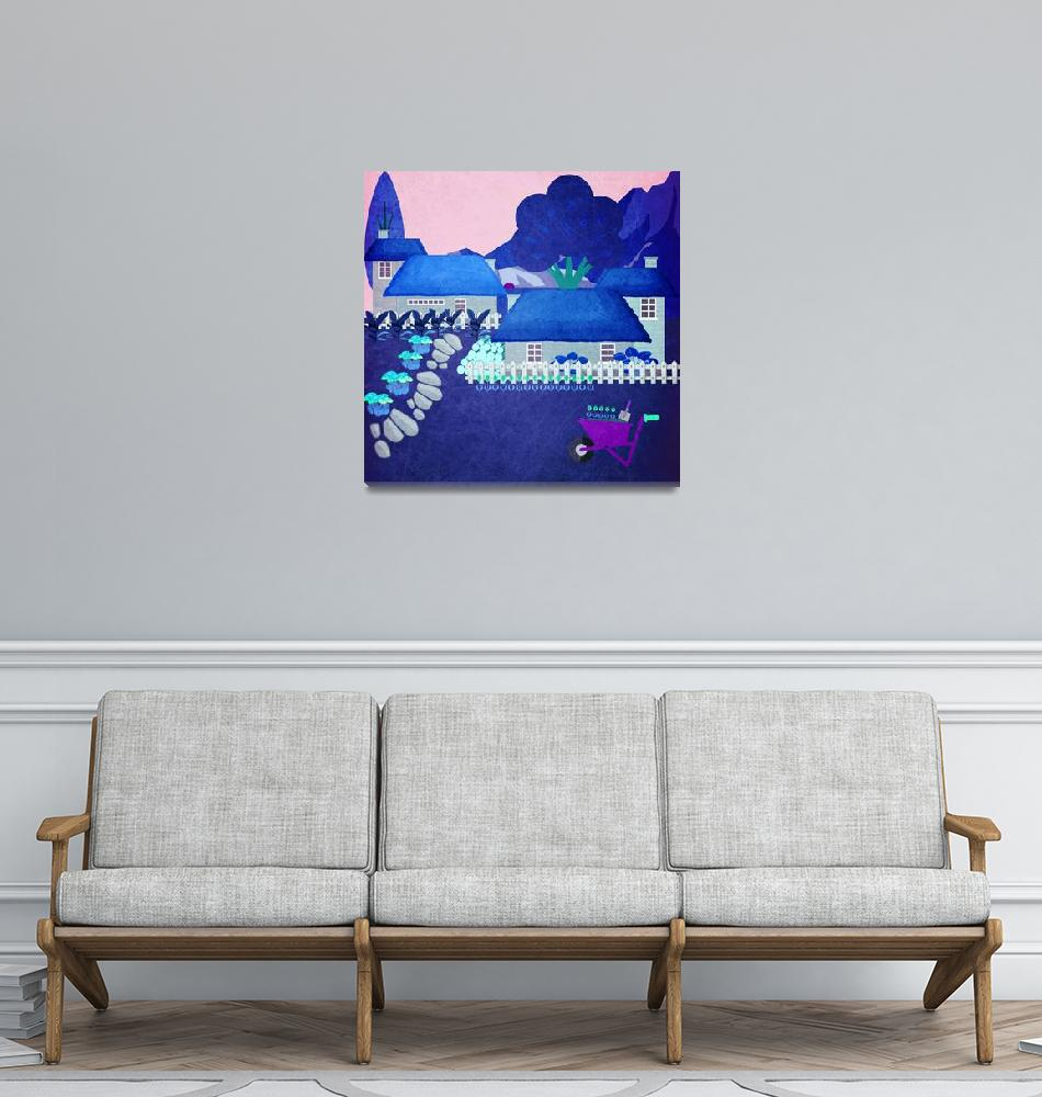 """Norway - Landscape 64""  by Design4uStudio"
