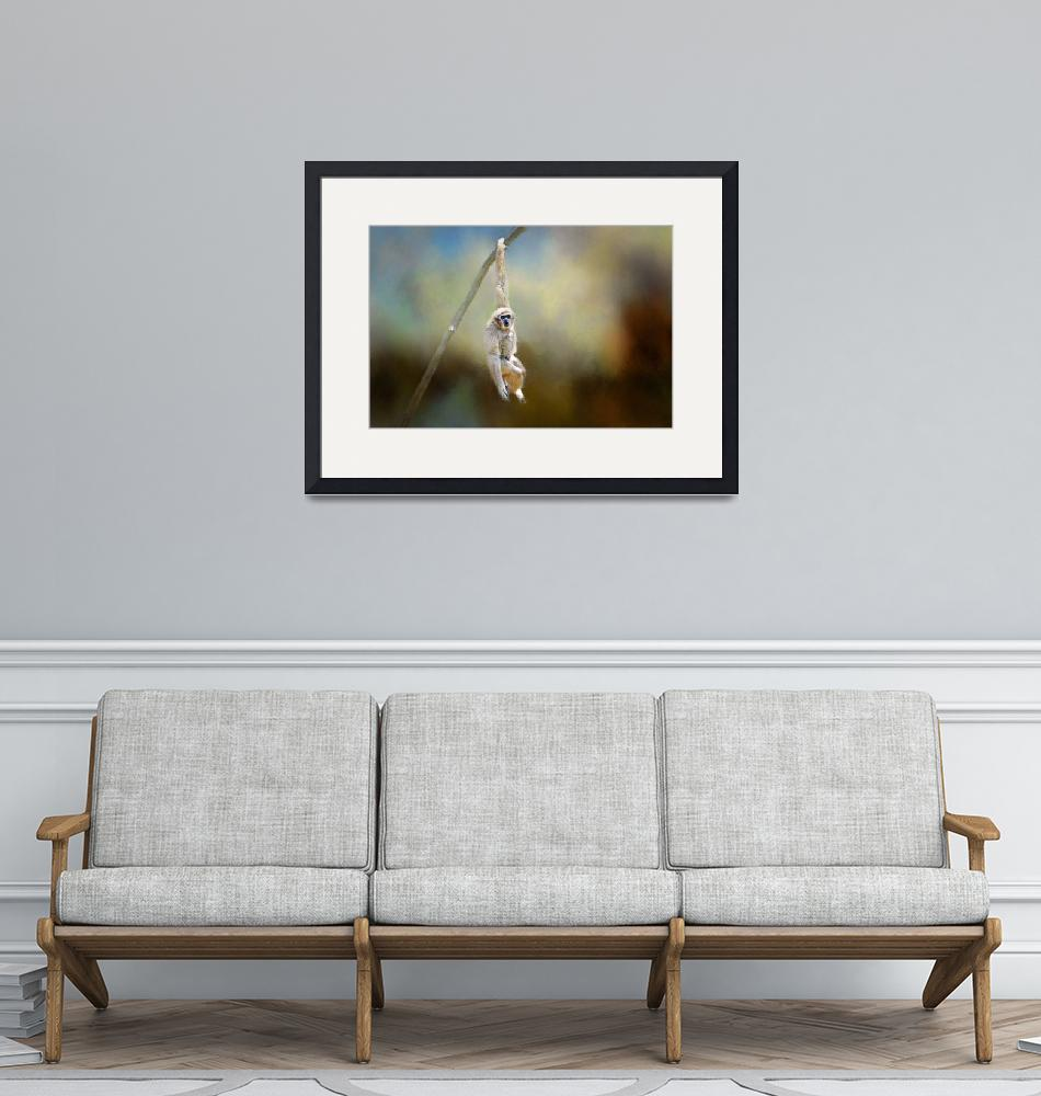 """""""Just Hanging Out""""  (2016) by LynnBauer"""