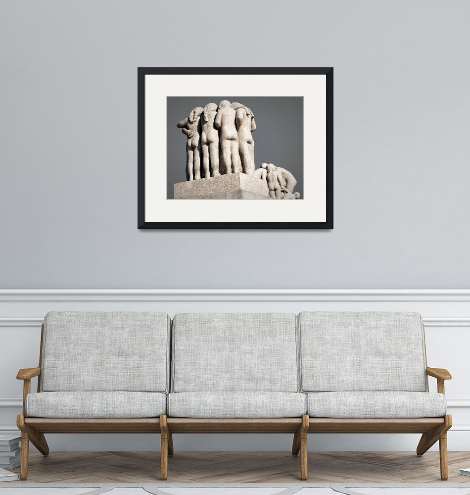 """""""Sculptor Grouping by Gustav Vigeland""""  (2019) by WilshireImages"""