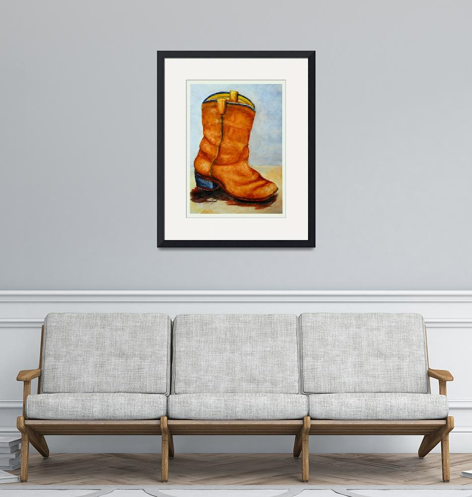"""Boot""  (2012) by KrisCourtney"