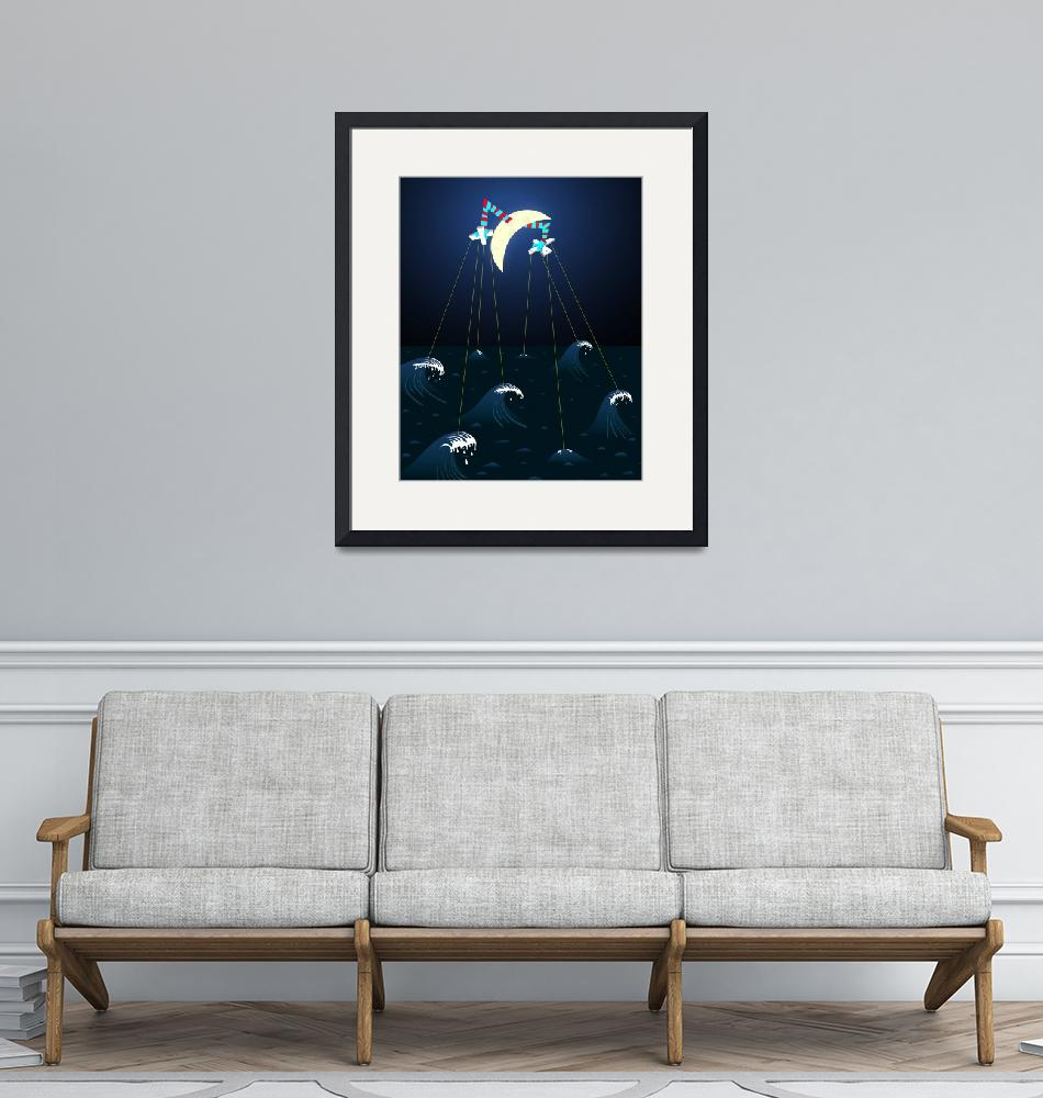 """""""The Moon Has Pull""""  (2007) by chrisleavens"""