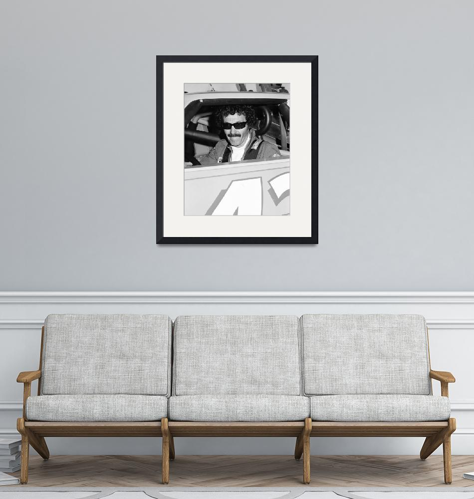 """Richard Petty""  by RetroImagesArchive"