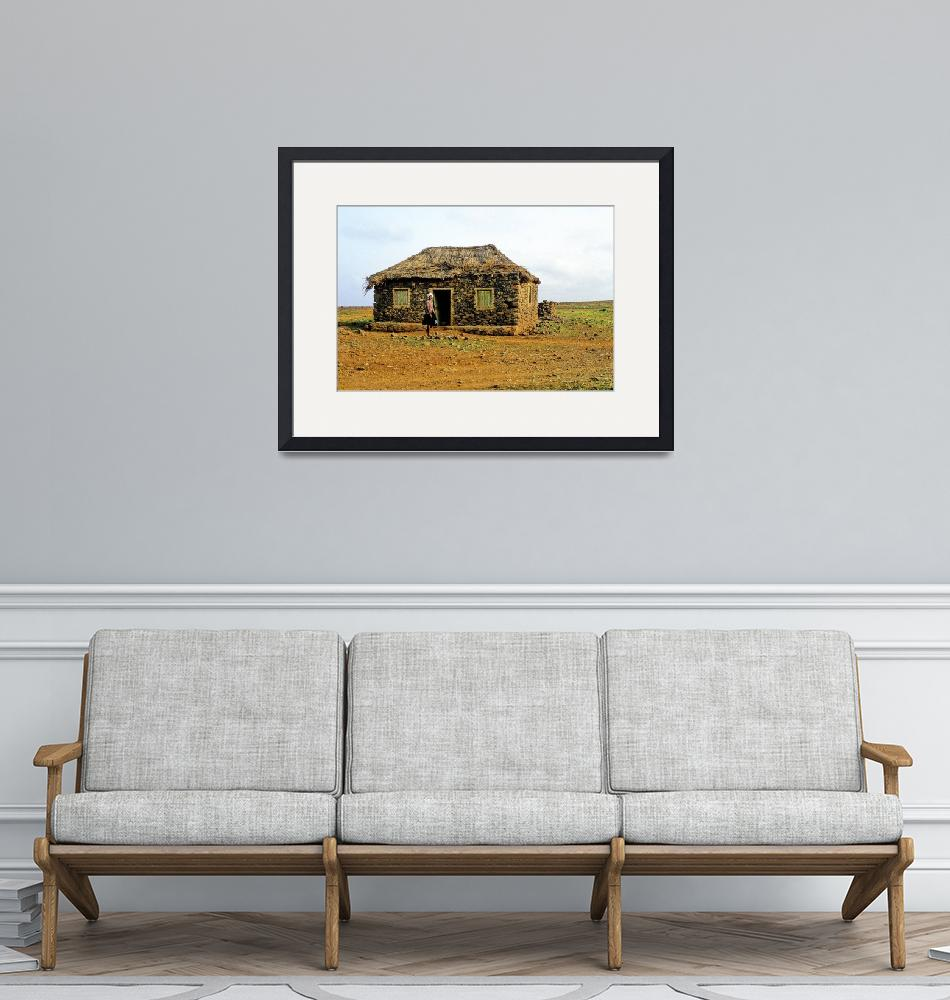 """""""Lone House in the Desert""""  (1988) by JoaoPonces"""
