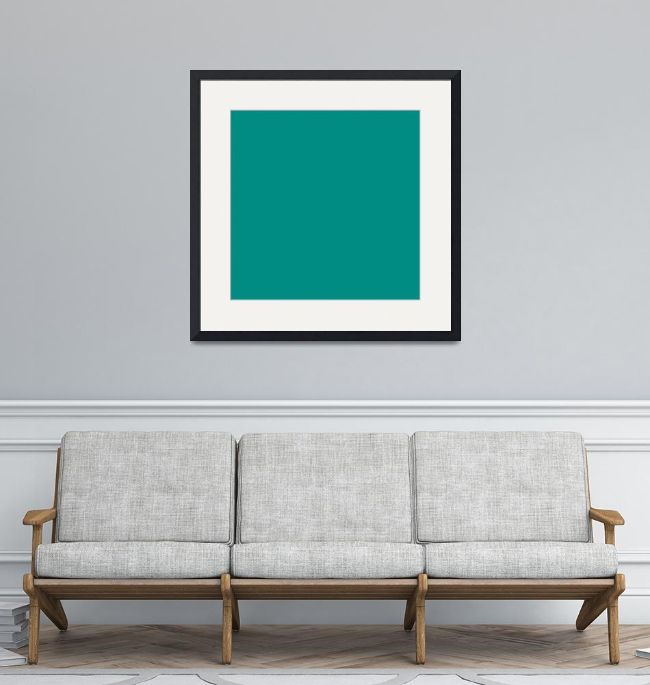 """Square PMS-327 HEX-008C82 Green""  (2010) by Ricardos"