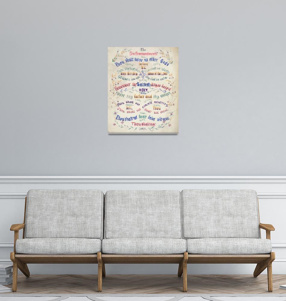 """The Ten Commandments""  by kreicher"