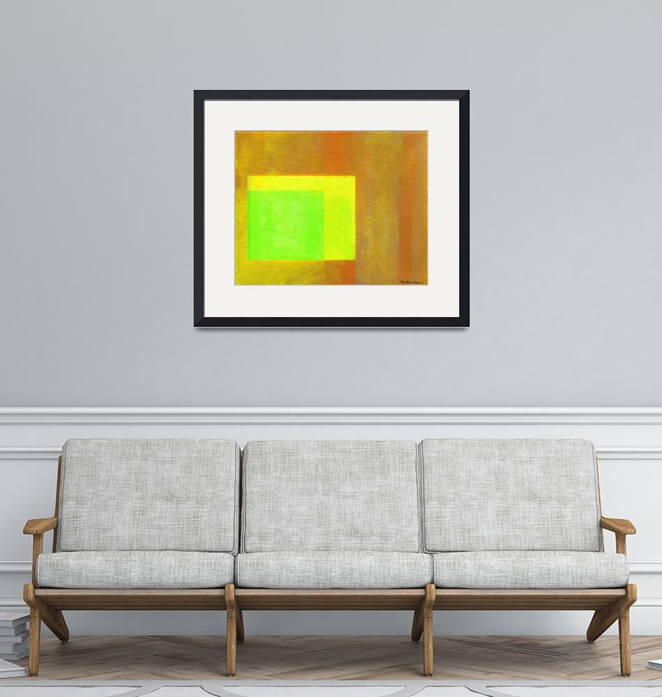 """Abstract Painting Lemon Lime Squeezer""  (2020) by RDRiccoboni"
