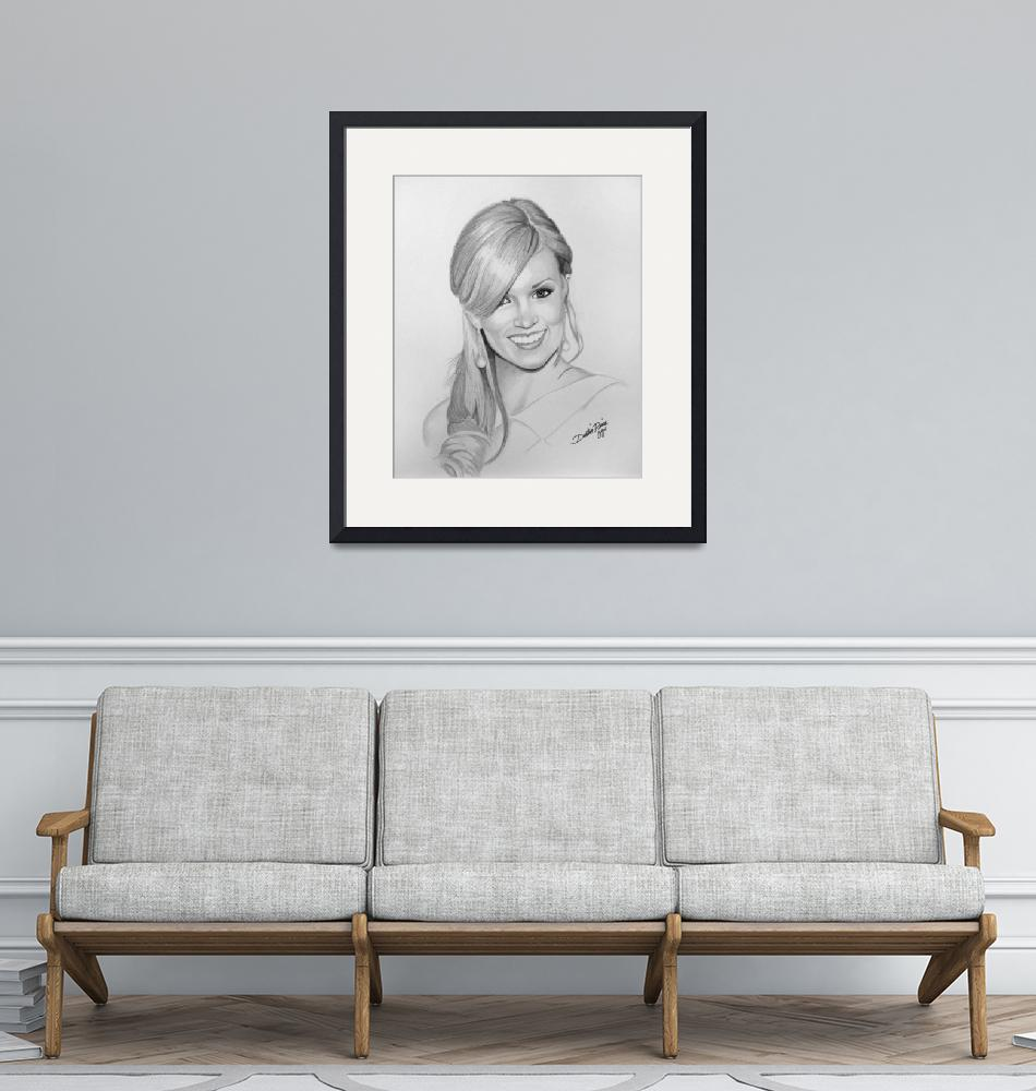"""""""Carrie Underwood""""  (2008) by dustinpriceportraits"""