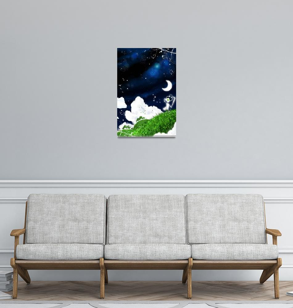 """""""Cloud Pastures""""  (2009) by LuisPeres"""