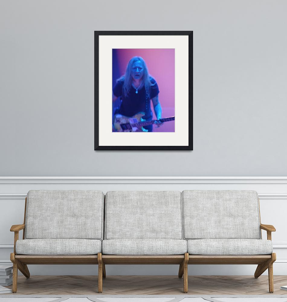 """""""Alice in Chains - Jerry Cantrell Pink & Blue 1""""  (2010) by robvena"""