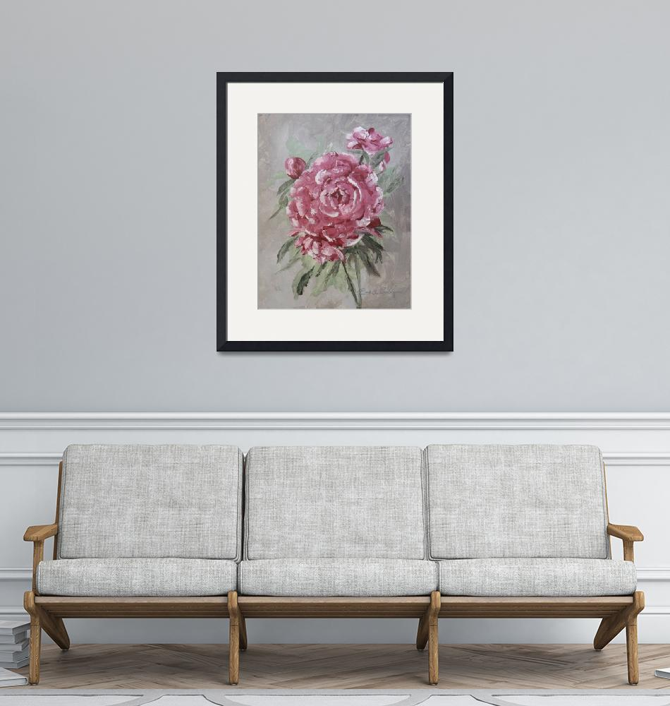 """""""PEONY""""  (2015) by RuthDriedger"""