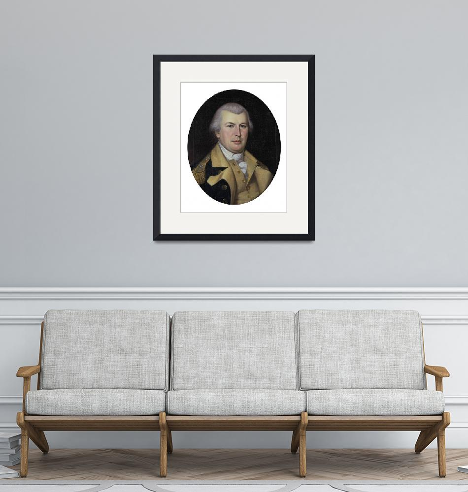 """""""Charles Willson Peale~NATHANAEL GREENE""""  by Old_master"""