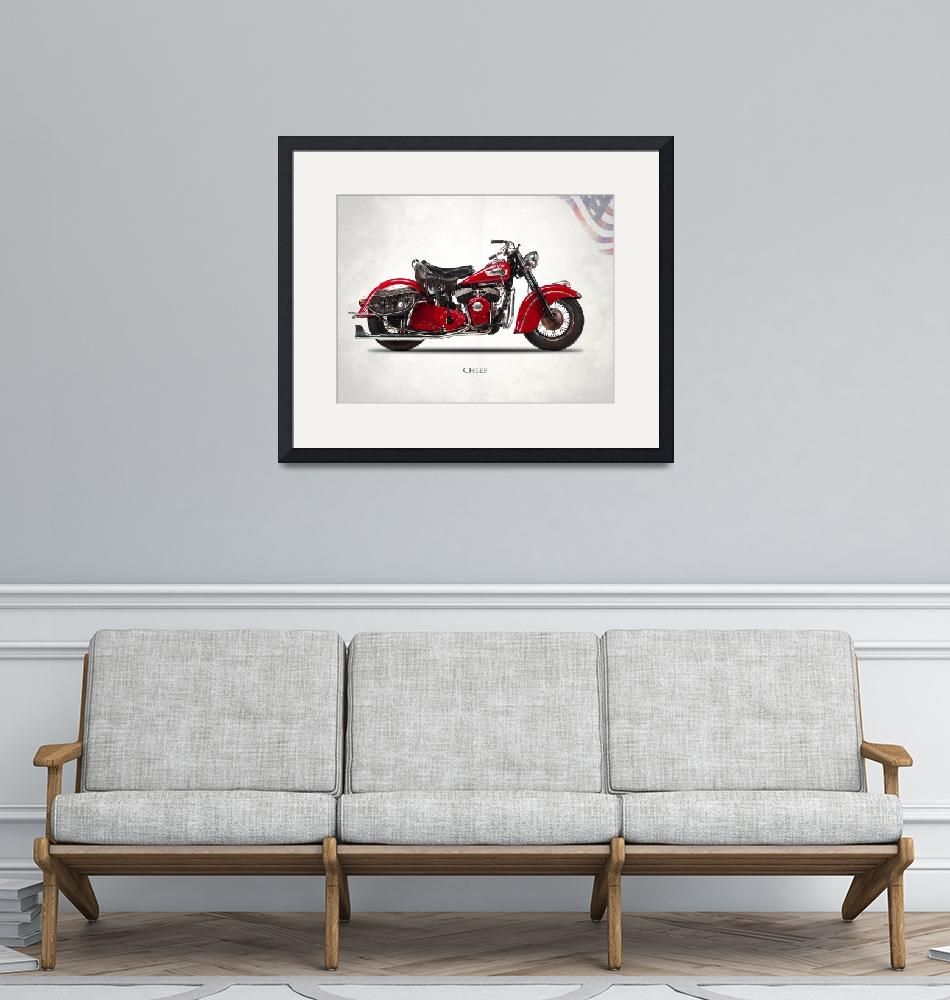 """""""The 1950 Indian Chief"""" by mark-rogan"""