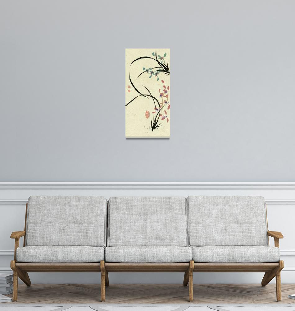 """""""Orchid - 34""""  by RiverHan"""