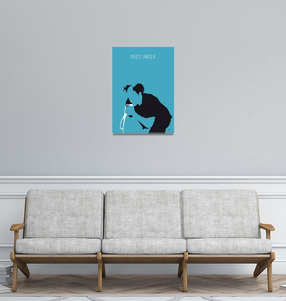 """""""No045 MY The Prodigy Minimal Music posteR""""  by Chungkong"""