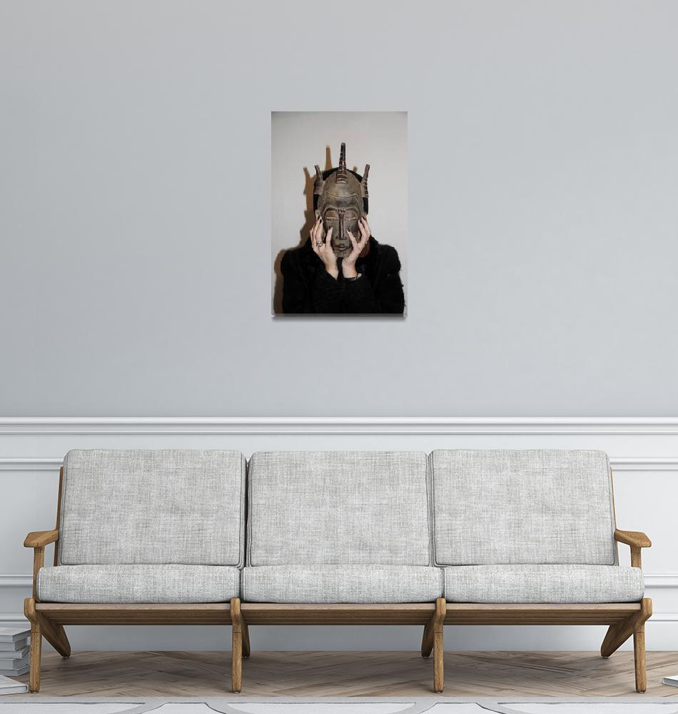 """""""The Mask""""  (2012) by JRomanoff"""
