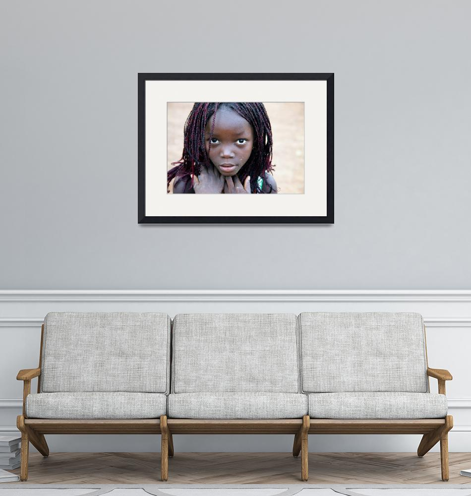 """African Girl""  (2013) by SimonFenton"