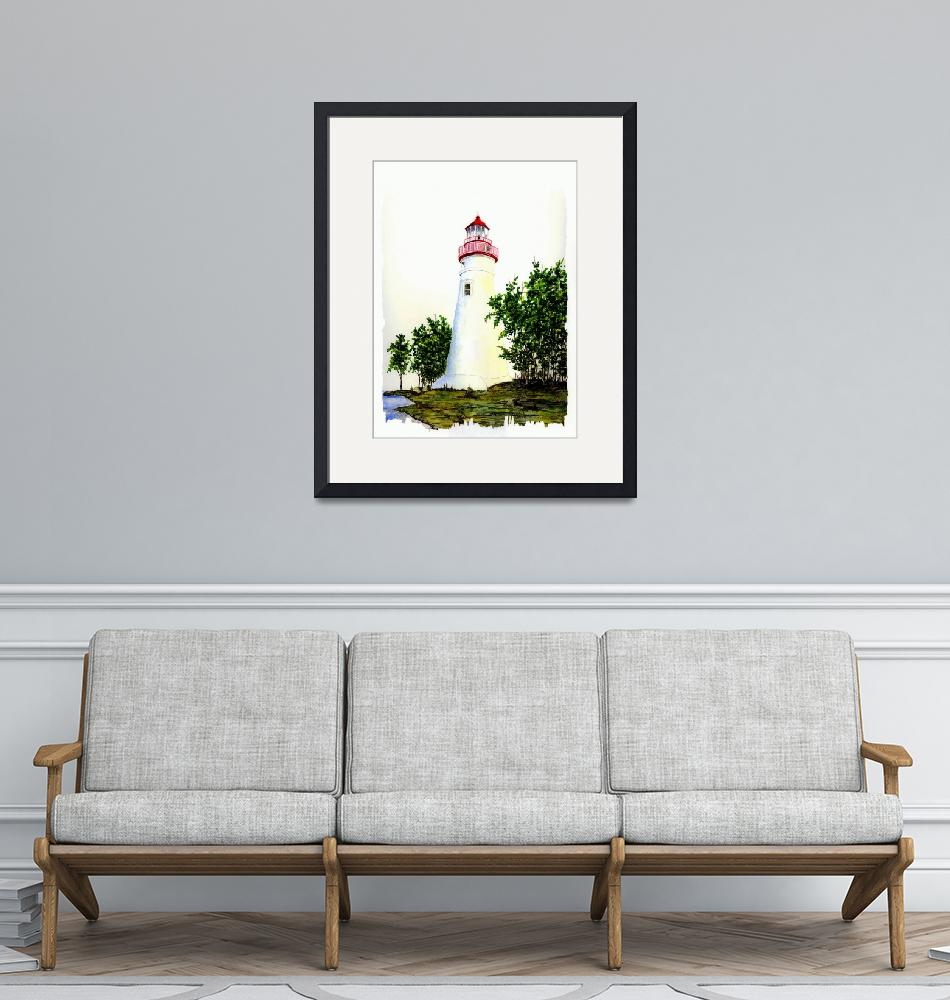 """""""Marblehead Lighthouse""""  (2007) by vigliotti"""