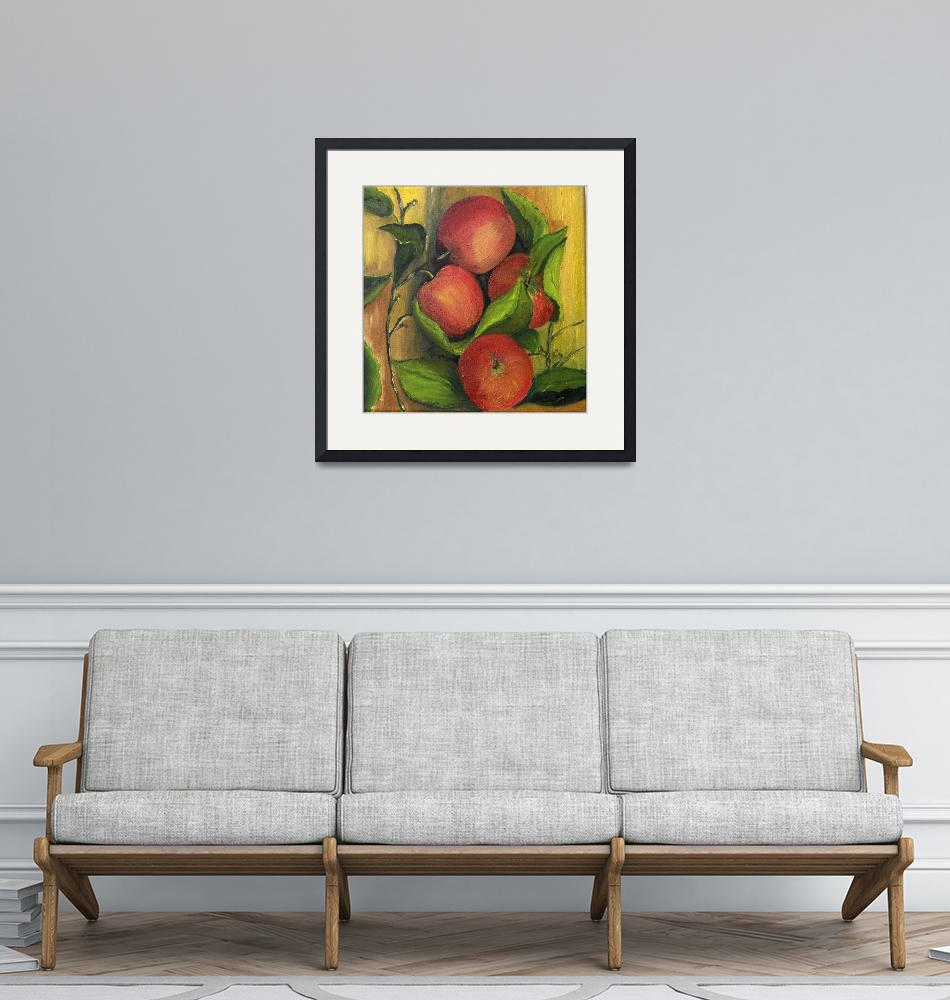 """apples""  (2011) by elaineart"
