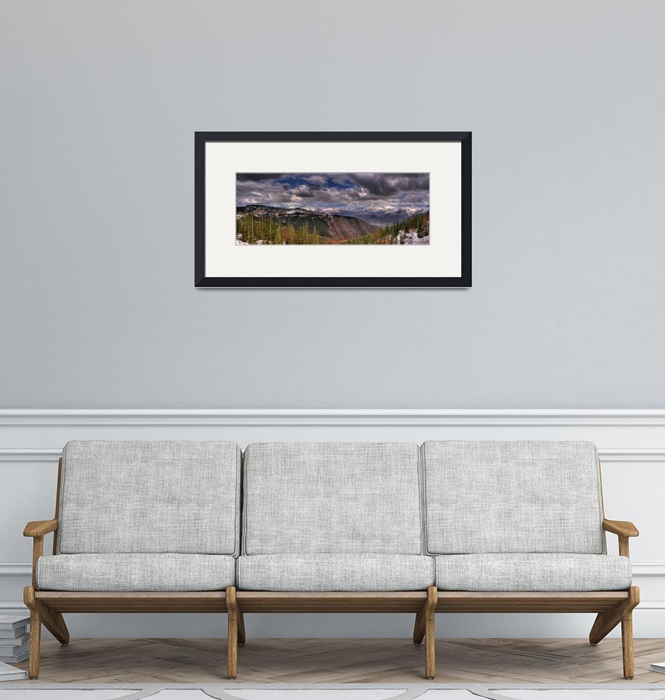 """""""0043 Mount Saint Helens panoramic""""  (2009) by vincentlouis"""