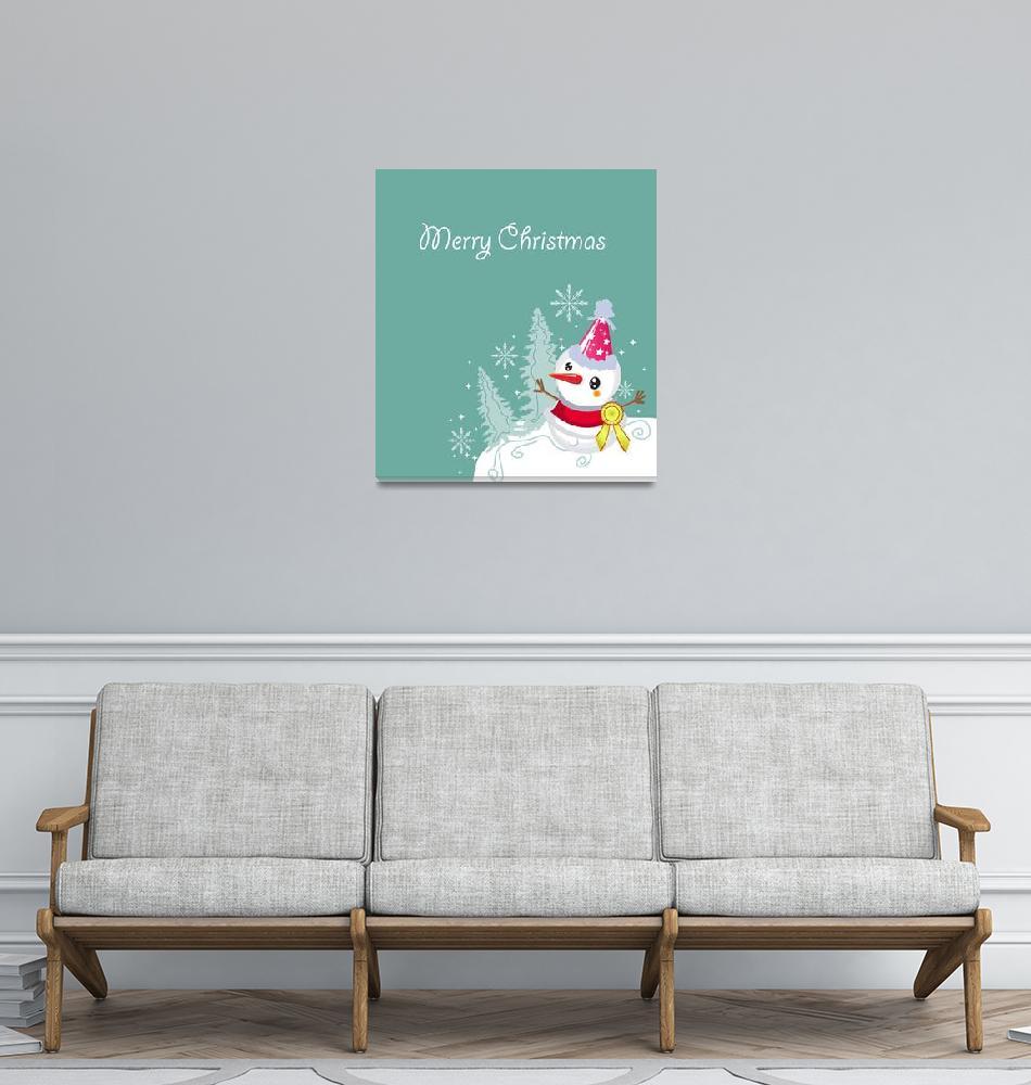 """merry christmas card""  by ngocdai86"