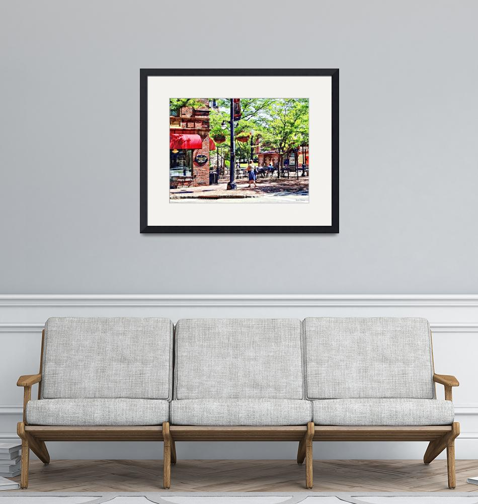"""Corning NY - Charming Cafe""  by susansartgallery"