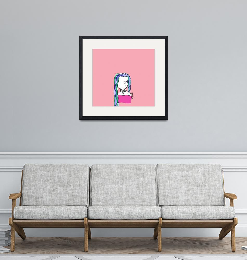 """""""PinkGirl""""  by parns"""