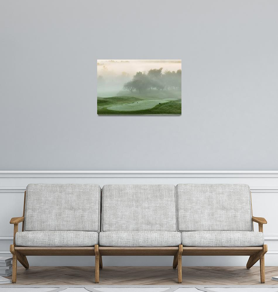 """Spring Meadows First Tee""  (2004) by GordieSea"