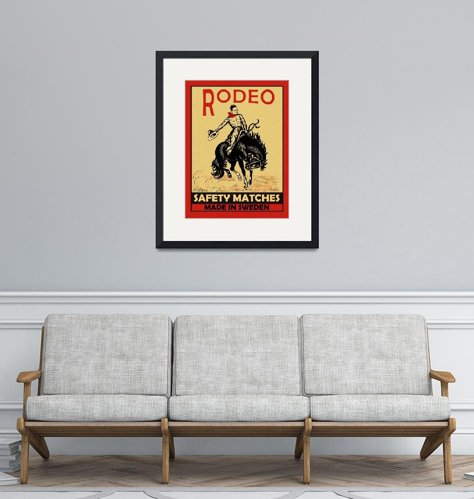 """""""The Vintage Rodeo Safety Matches"""" by mark-rogan"""