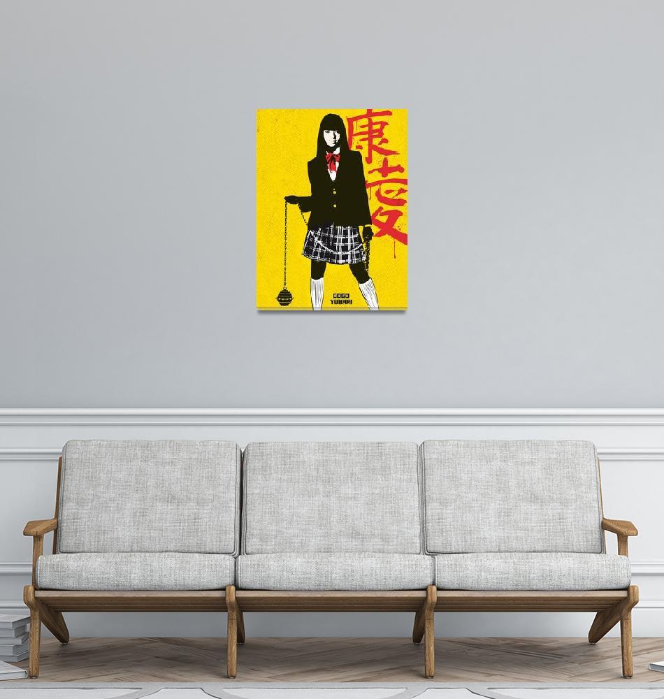 """""""Alternative gogo yubari movie poster""""  (2017) by goldenplanetprints"""
