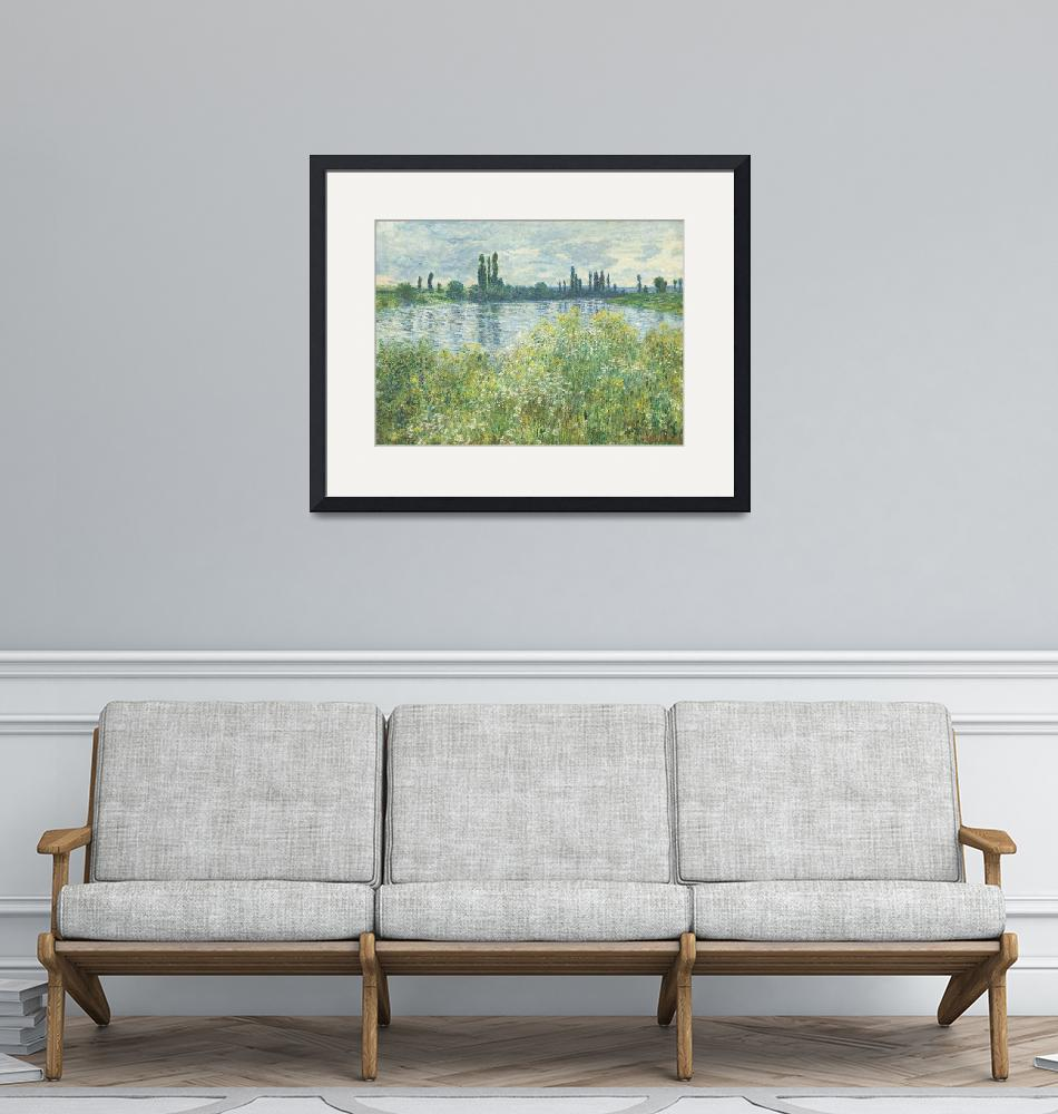 """Banks of the Seine, Vétheuil by Claude Monet""  by FineArtClassics"