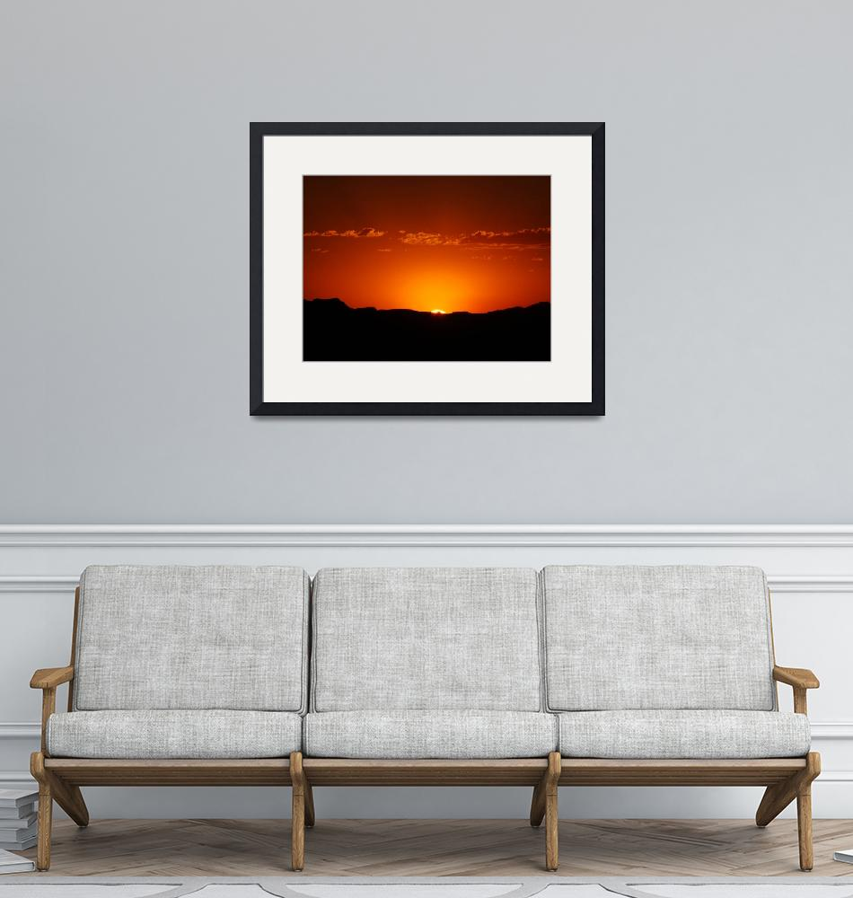 """""""Fire in the Sky""""  (2008) by flowphotography"""
