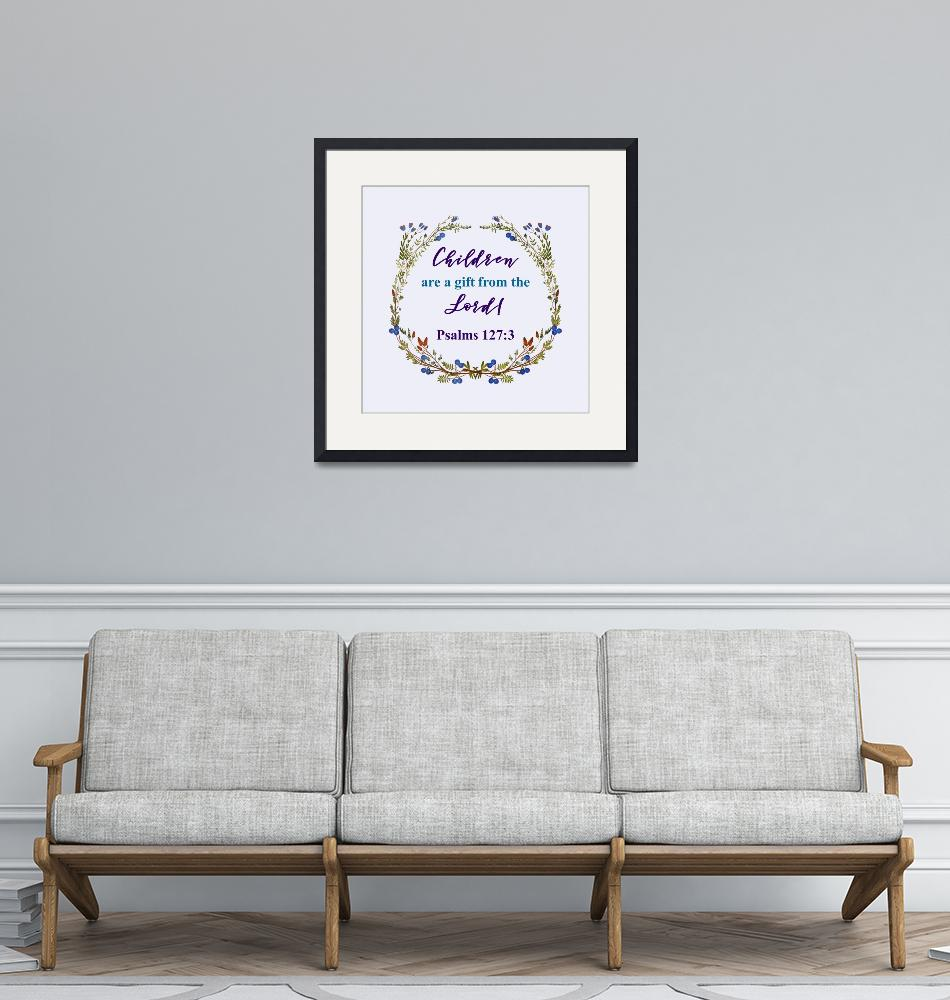 """""""BIBLE QUOTES ON BLUEBERRY WREATH-page-001""""  by marymase"""