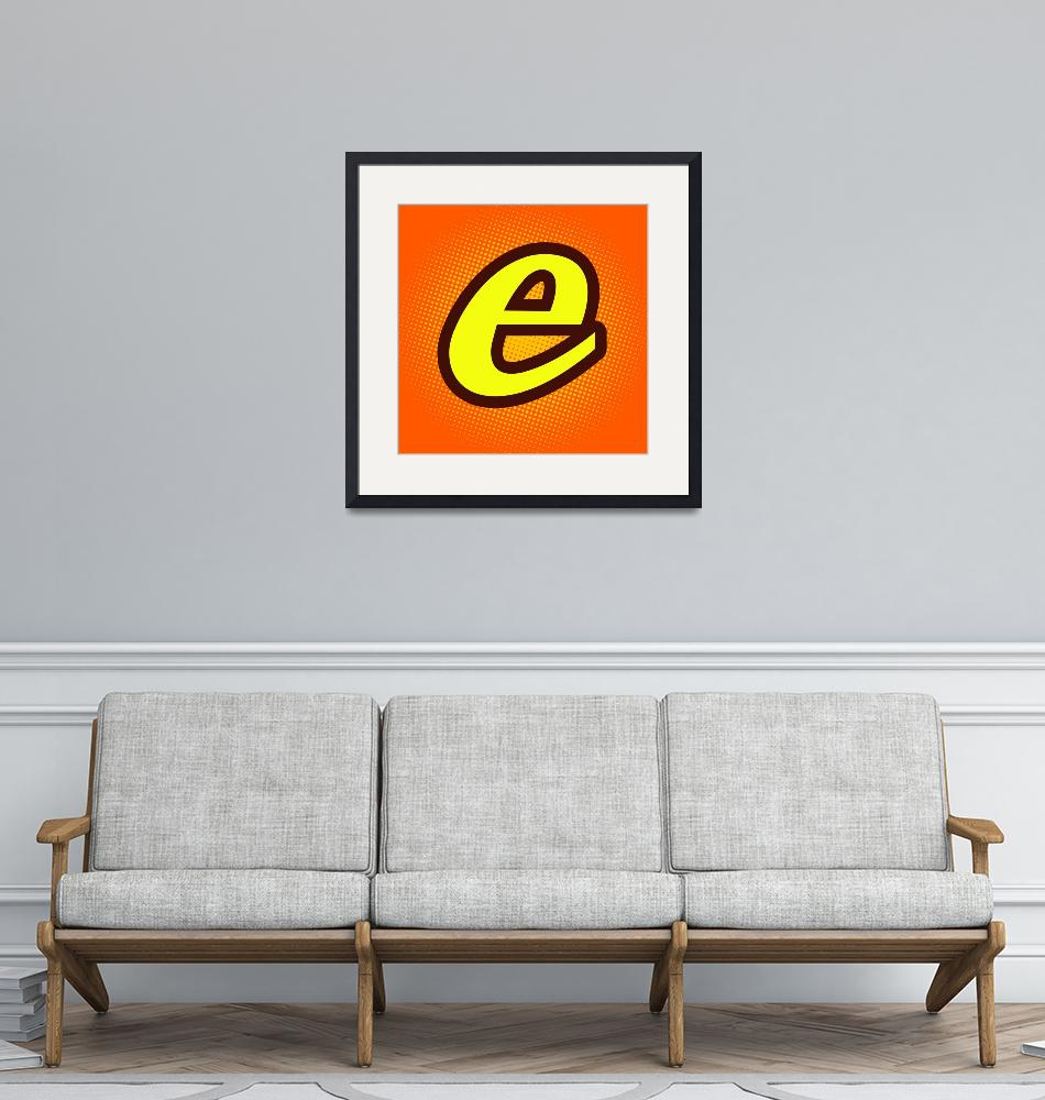 """E-reeses""  by LetterPopArt"
