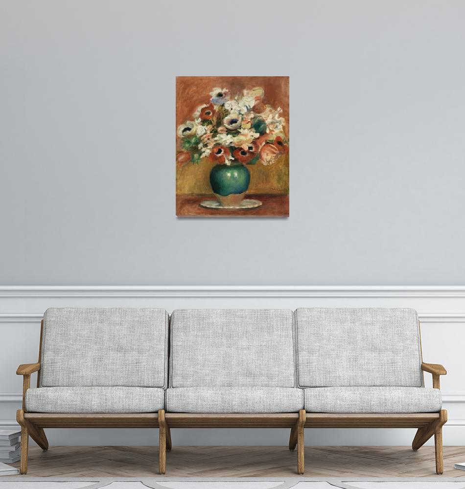"""Flowers by Renoir""  by FineArtClassics"