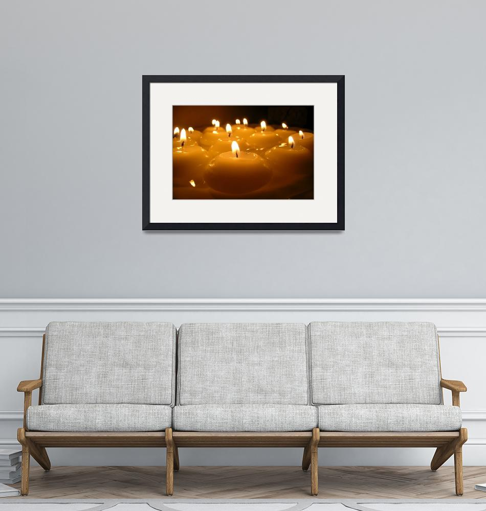 """""""Candles… Peace...""""  (2004) by"""