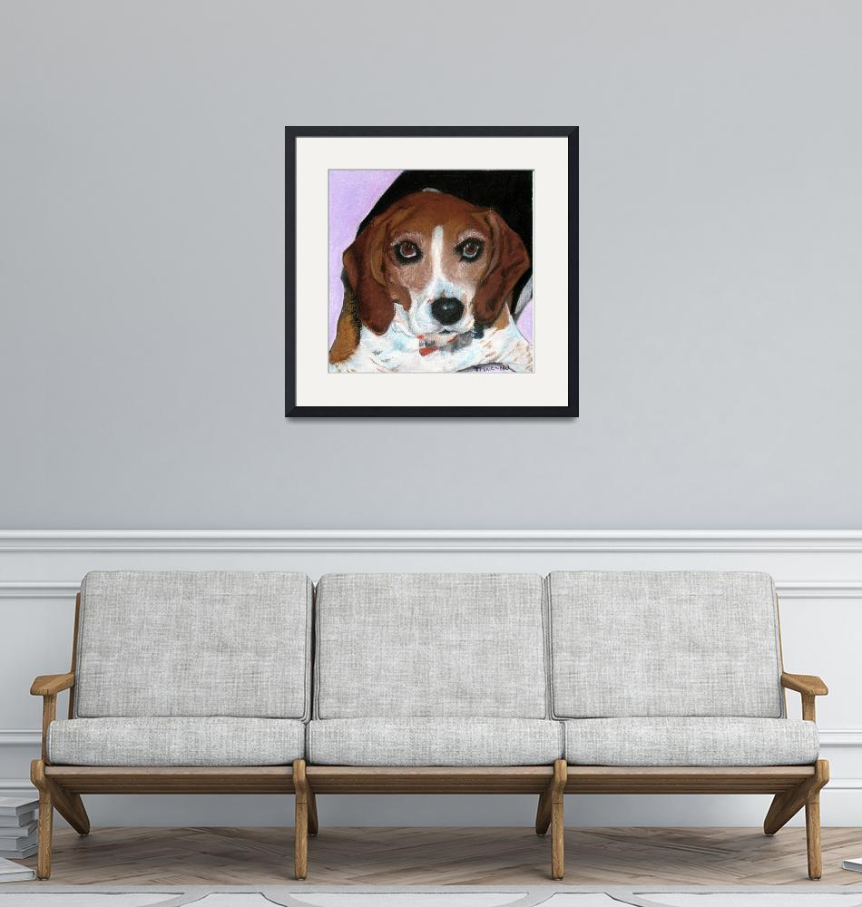 """""""Trixie the Beagle""""  (2010) by Noelle88"""
