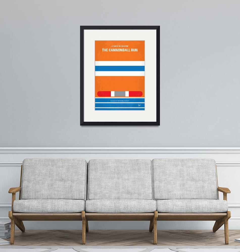 """No411 My The Cannonball Run minimal movie poster""  by Chungkong"
