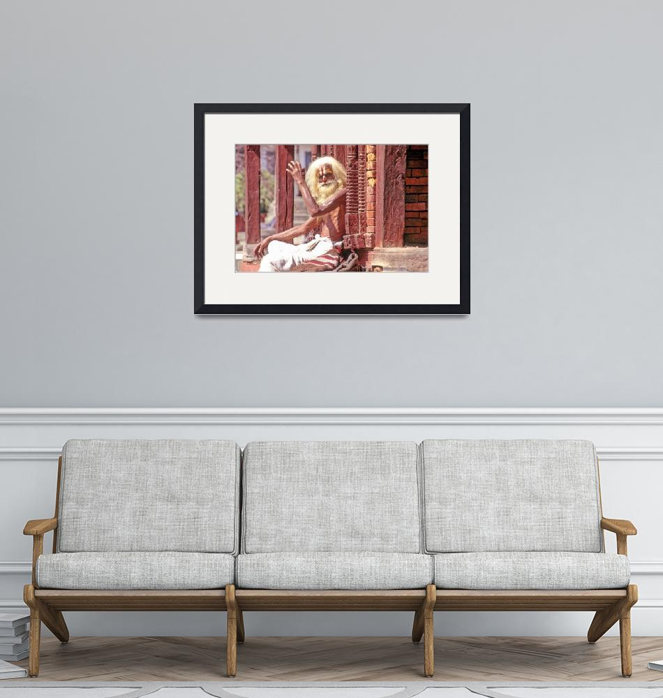 """""""Commercial Holy Man""""  (1995) by JoaoPonces"""