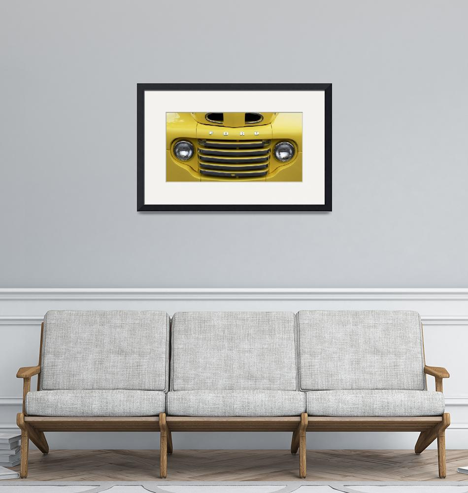 """""""Vintage Truck Grill""""  (2007) by myperspective"""