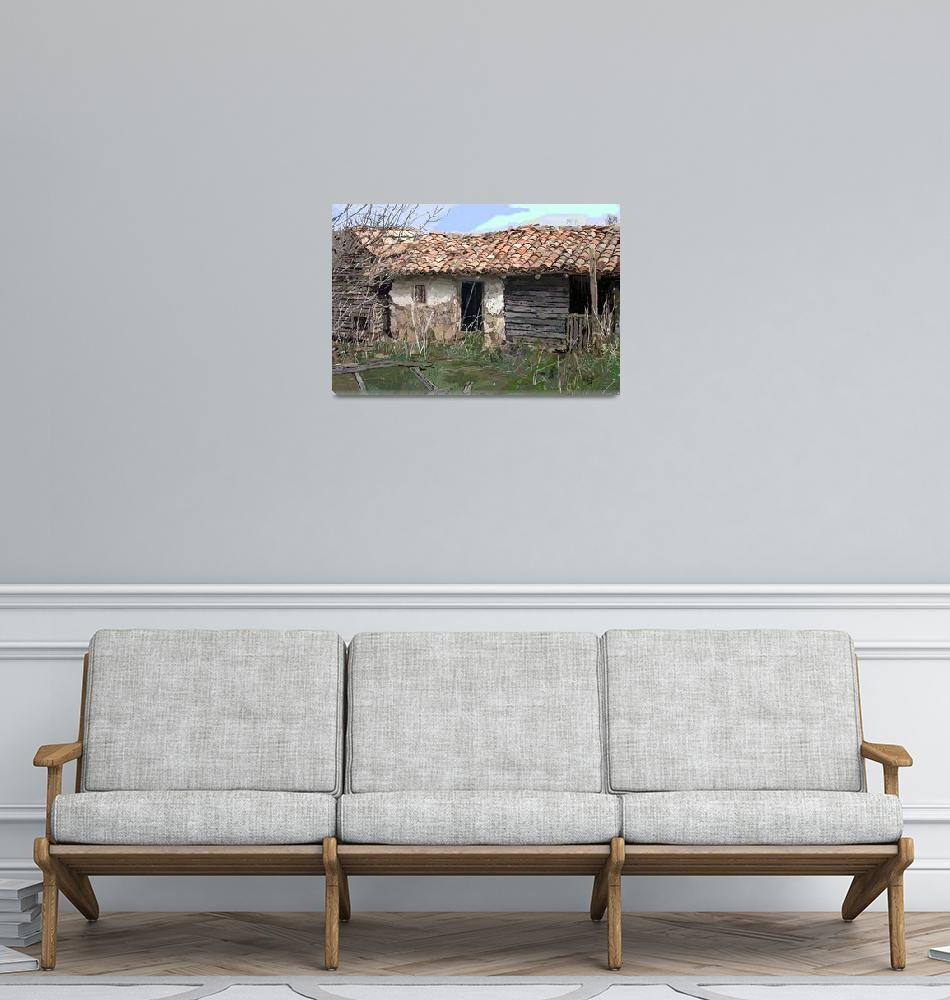 """Old Outbuildings 2""  (2009) by Artshedbg"