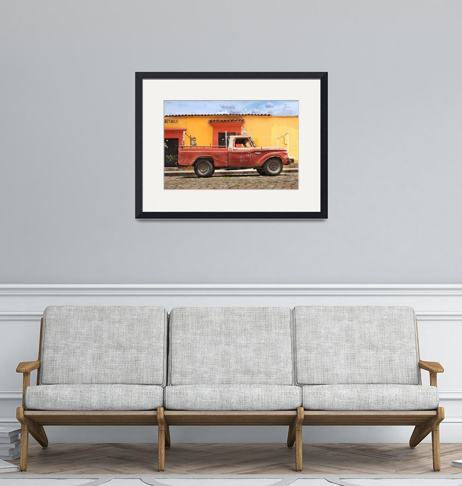 """old truck during day""  (2012) by charker"