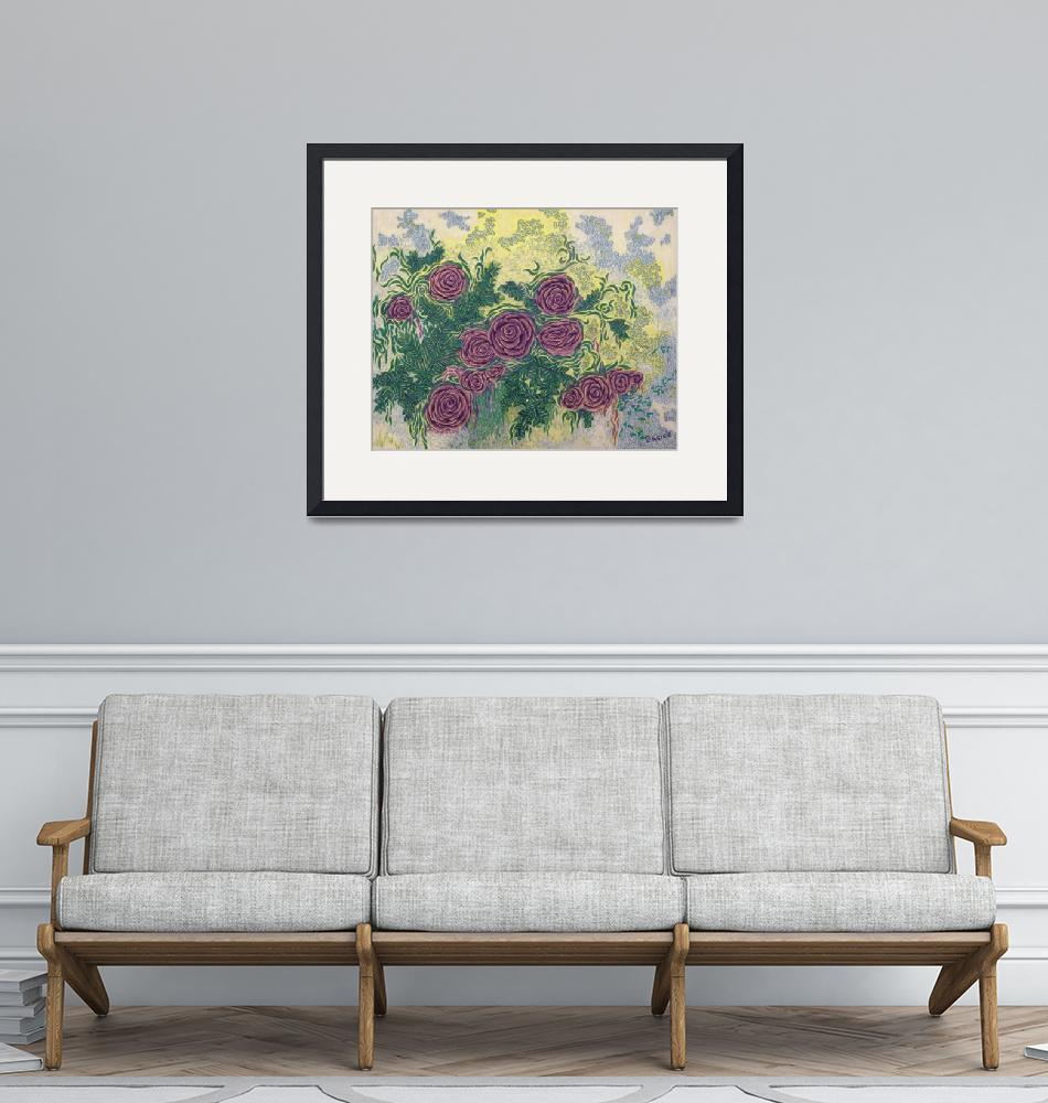 """Fine Art Prints Rose Wall Art Roses Flowers Deco""  (2008) by BasleeTroutman"