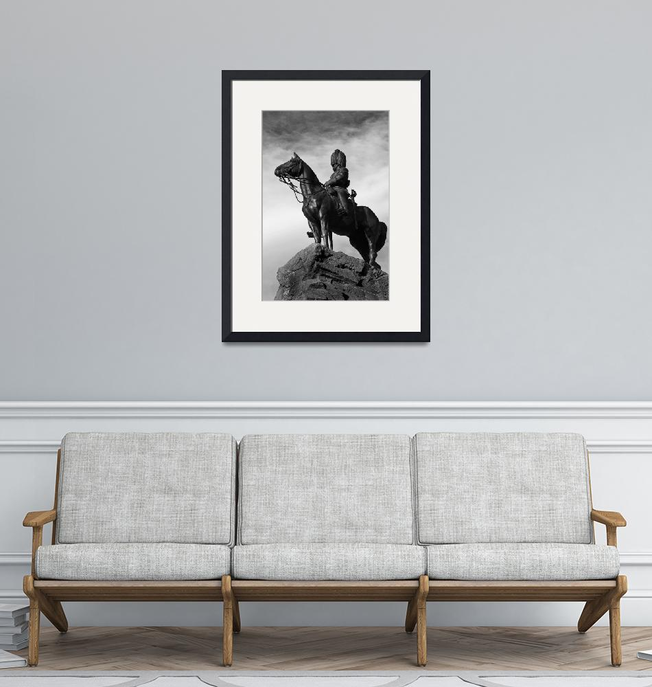 """""""Soldier on Horse""""  by bassqee"""
