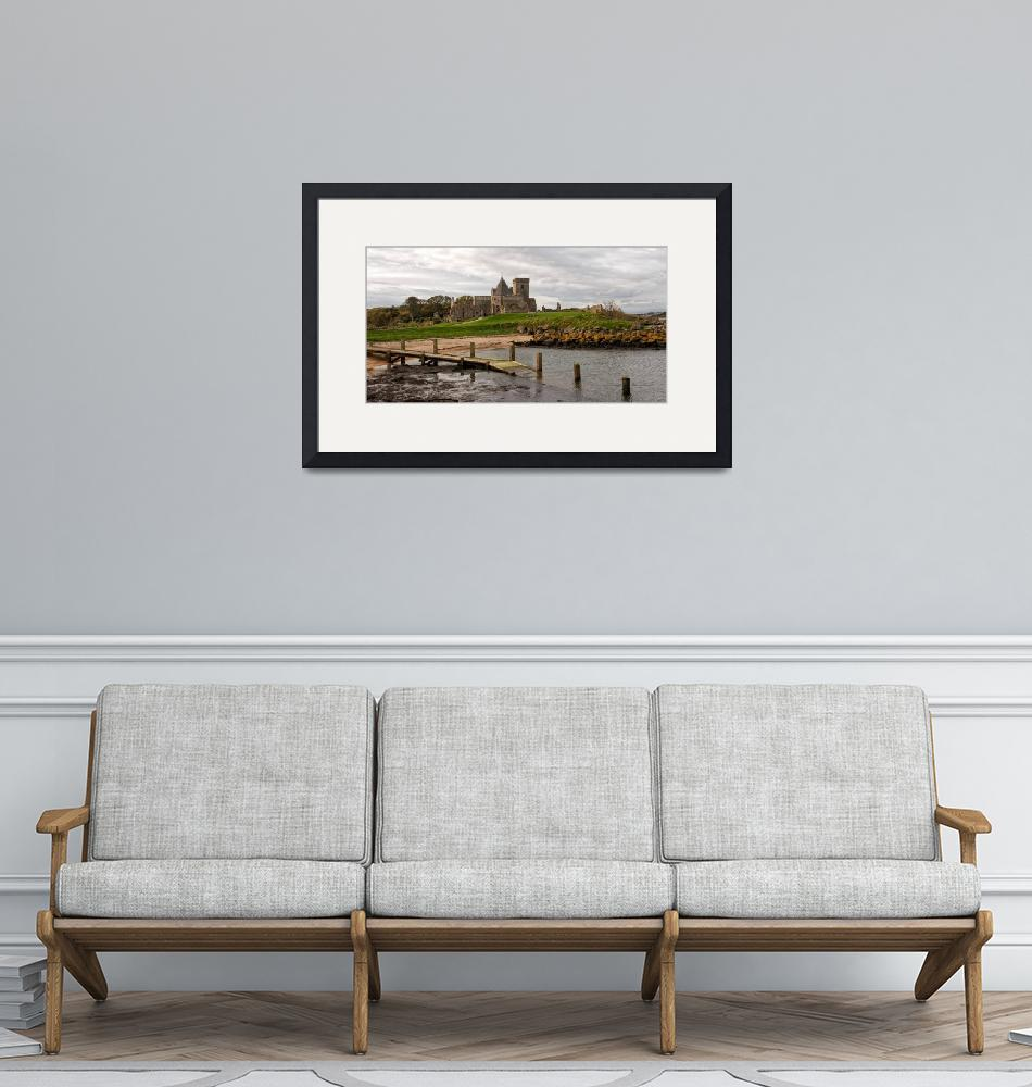 """""""Inchcolm Abbey. The Firth of Forth""""  (2013) by MilesGray"""
