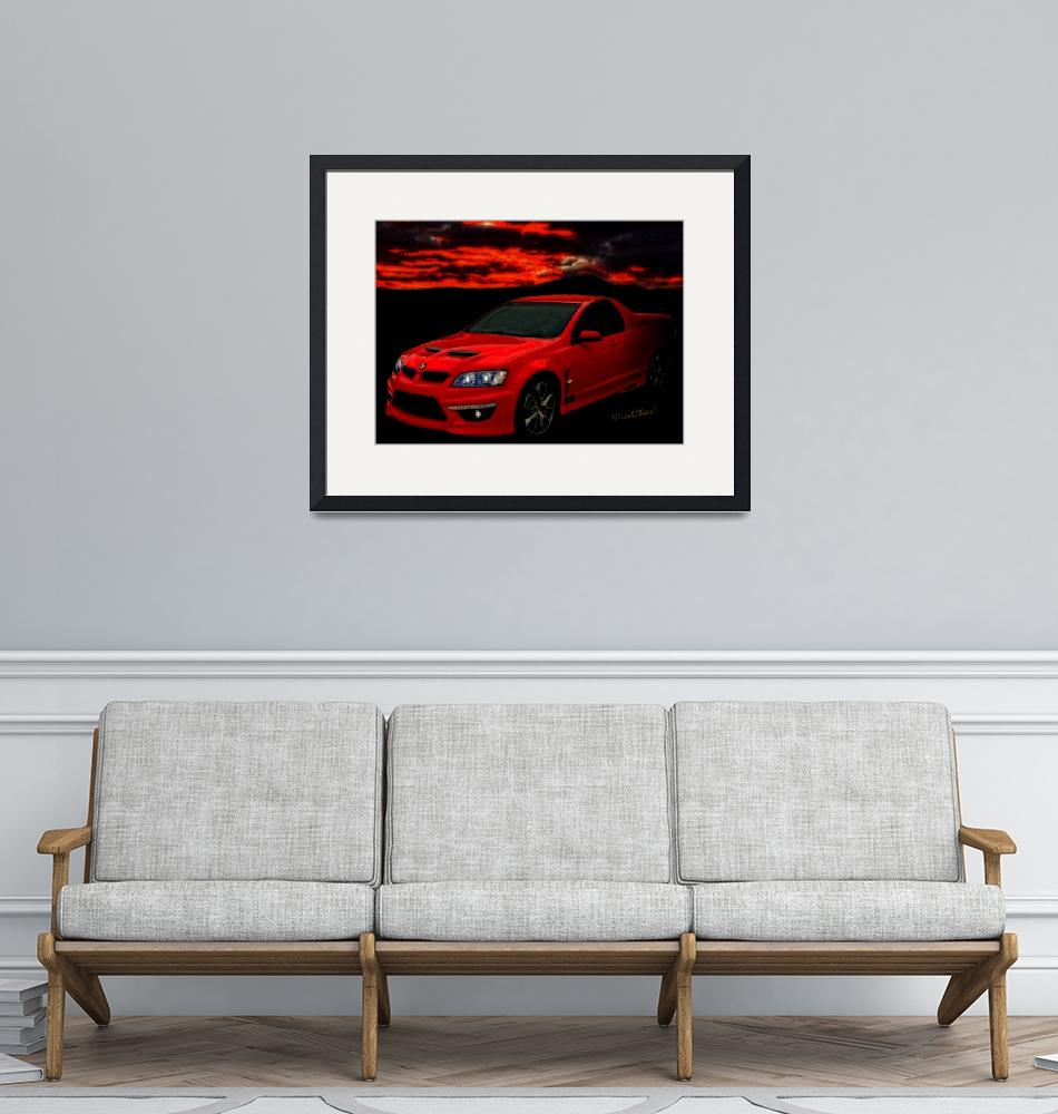 """""""Holden Maloo The New El Camino""""  (2013) by chassinklier"""