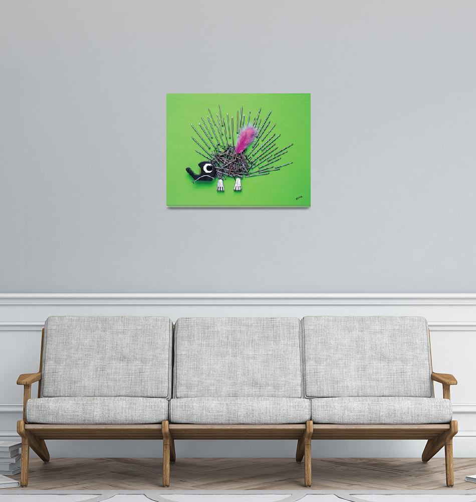 """porcupine""  (1999) by pivenworld"