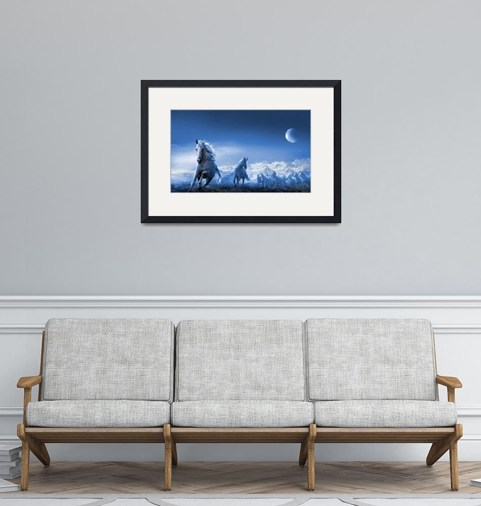 """Moon Rising""  by zenin"