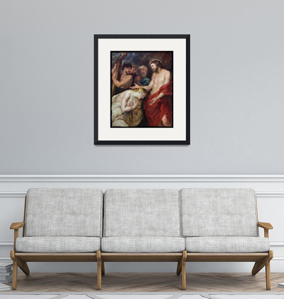 """""""Risen Christ with Mary c1715""""  (2020) by dianeaddis"""