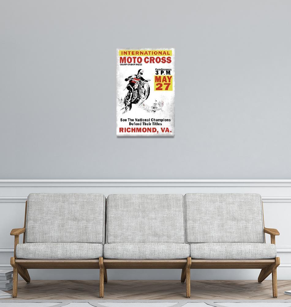 """International Moto Cross Championship""  by mark-rogan"