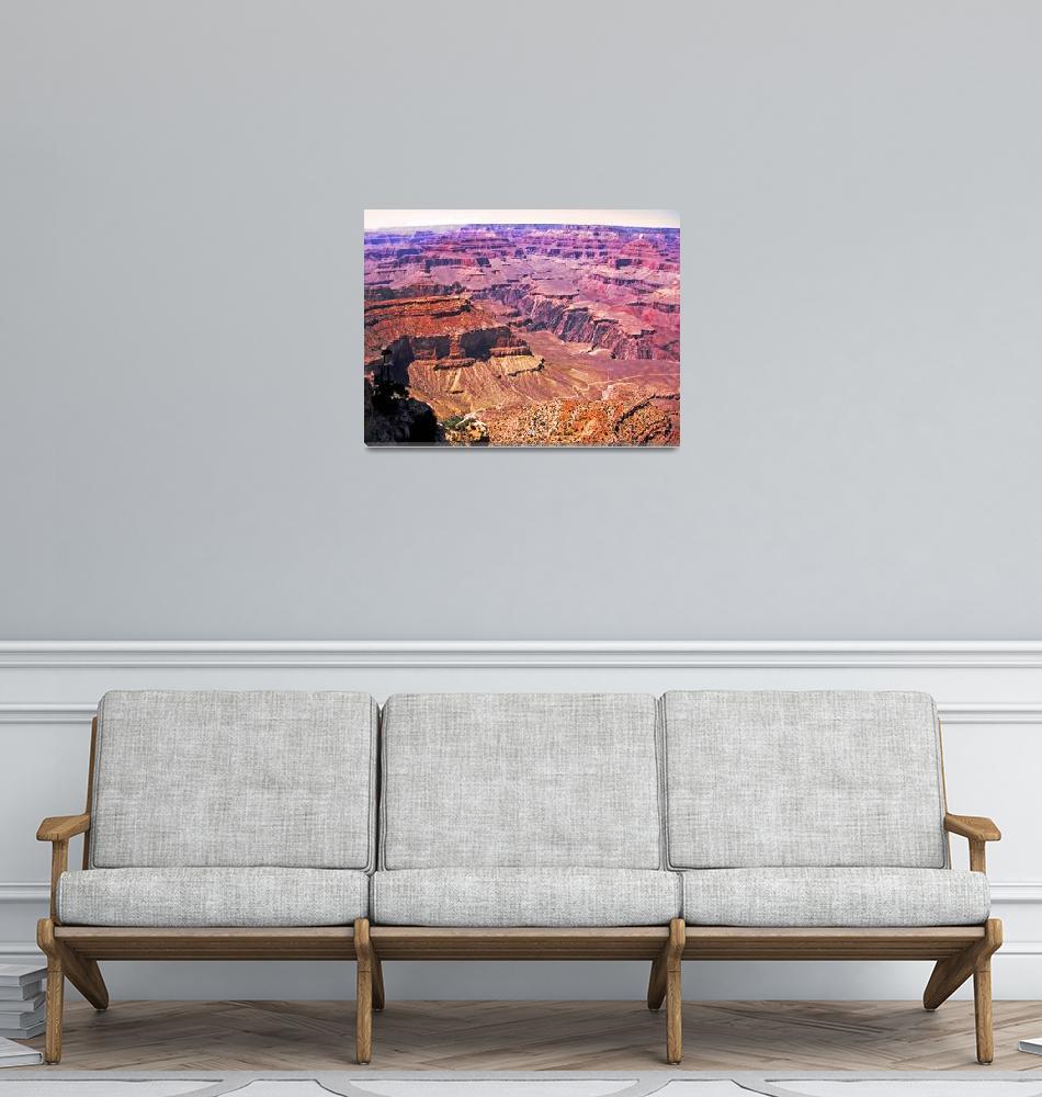 """""""Grand Canyon 4""""  (2007) by Sari_McNamee"""